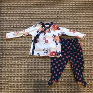 NWOT Matilda Jane baby two piece outfit